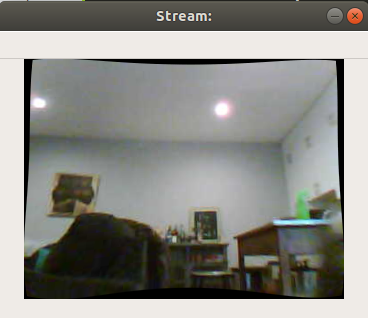 OpenMV Cam Undistorted Image Streaming